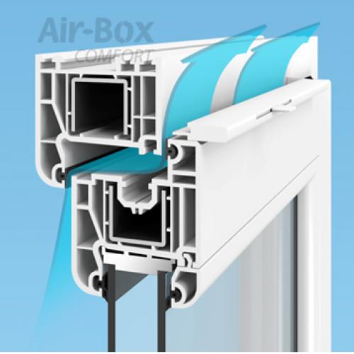 Air-Box langų vožtuvai
