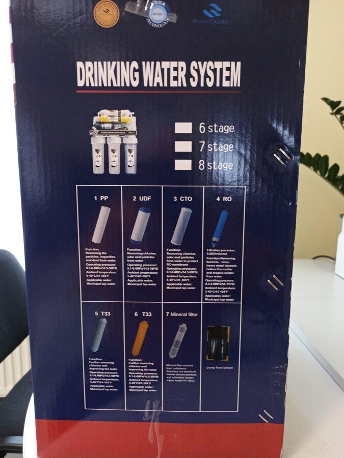 Vandens filtras RO -6