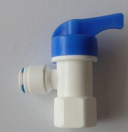 Vandens filtro rutulinis  uždarymo vožtuvas