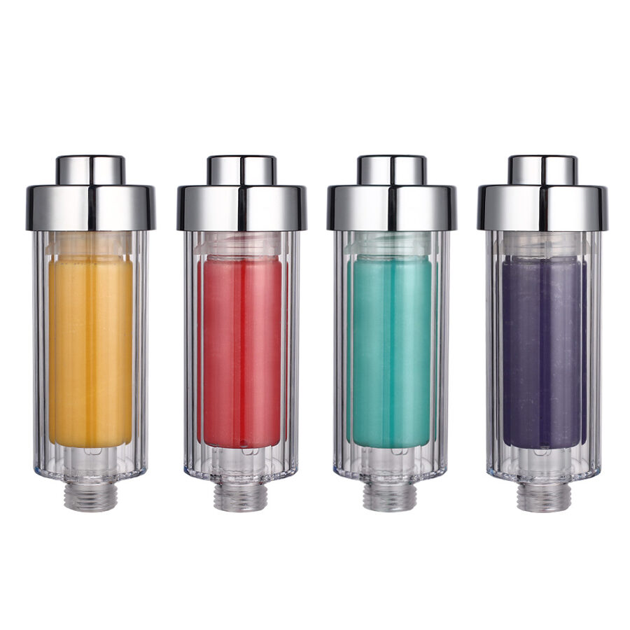 Citrinų kvapo dušo filtras su vitaminu C