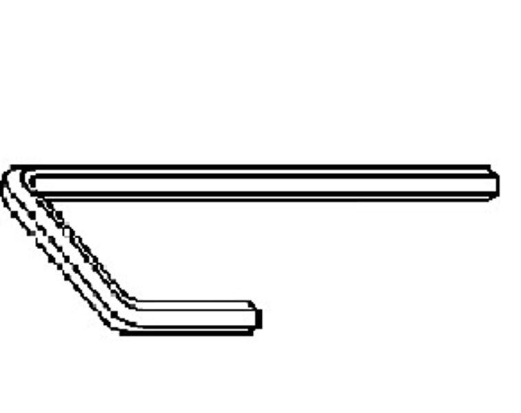 Hardware adjustment key (hexagon)