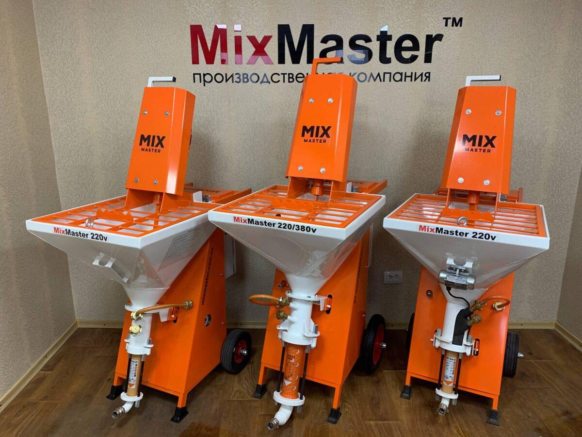 Tinkavimo mašina MixMaster